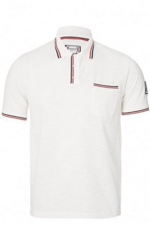 Moncler Gamme Bleu Chest Pocket Polo White