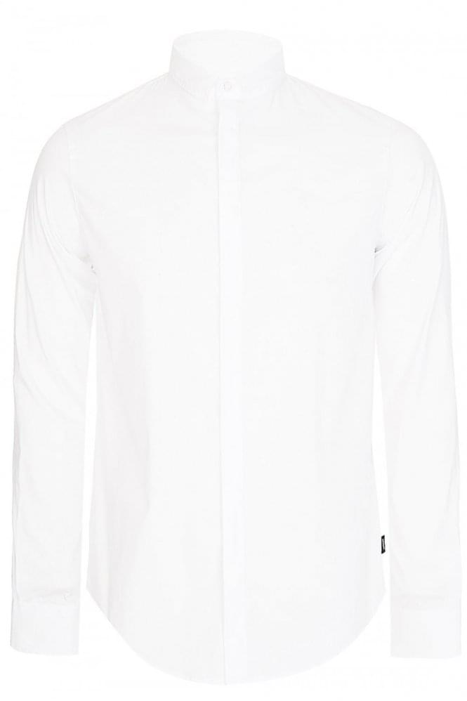 Armani Jeans Slim Fit Shirt White