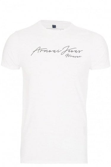 Armani Jeans 'Forever' T-Shirt White