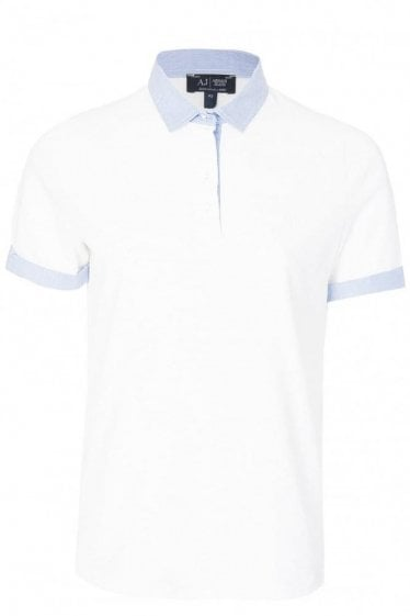 Armani Jeans Women's Stripe Trim Polo