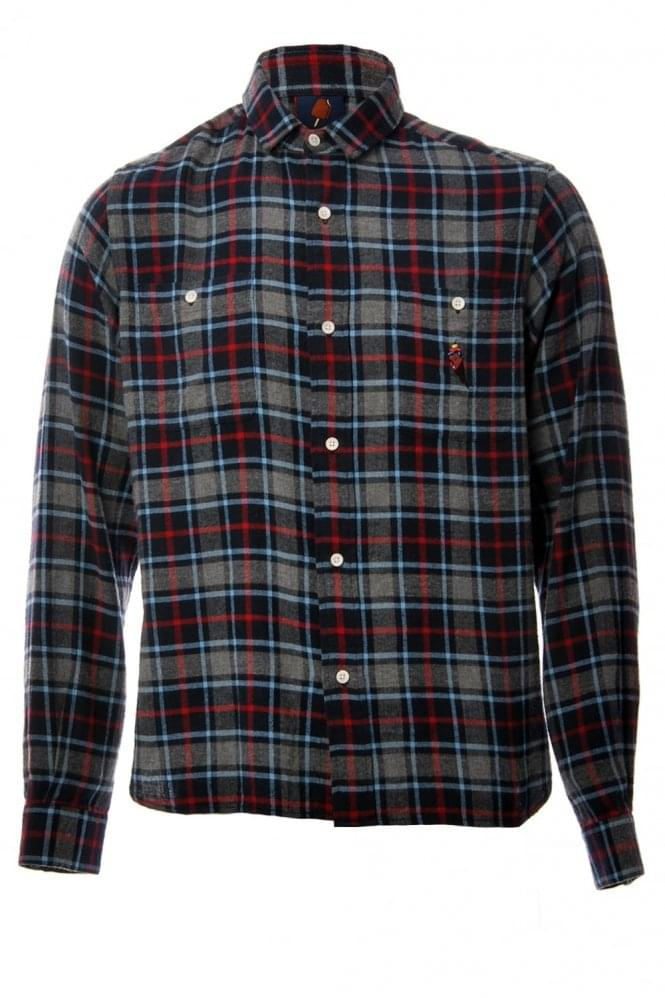 BILLIONAIRE BOYS CLUB Ice Cream Casual Checked Shirt