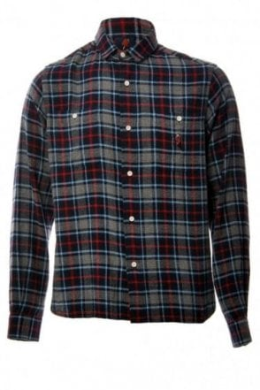 Ice Cream Casual Checked Shirt