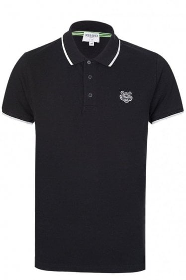 Kenzo Chest Logo Polo Black