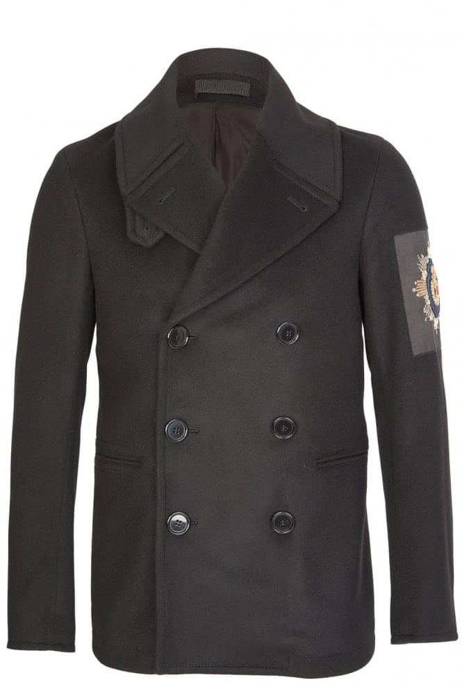 Alexander McQueen Double Breasted Wool Jacket