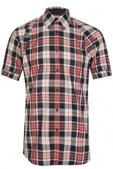 Alexander McQueen Mainline Check Harness Shirt