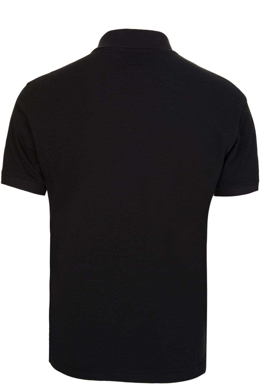 Alexander Mcqueen Alexander Mcqueen Skull Logo Polo Black Clothing