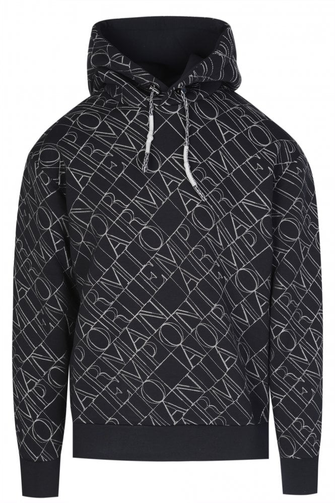 ALL OVER BRANDED HOODIE