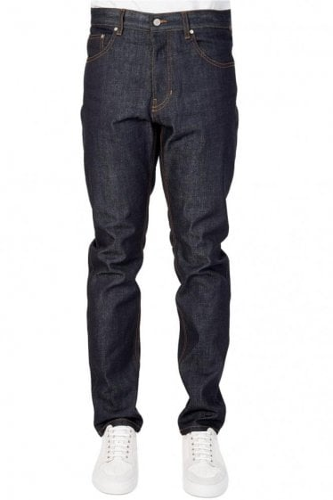AMI Fit Raw Denim Jeans
