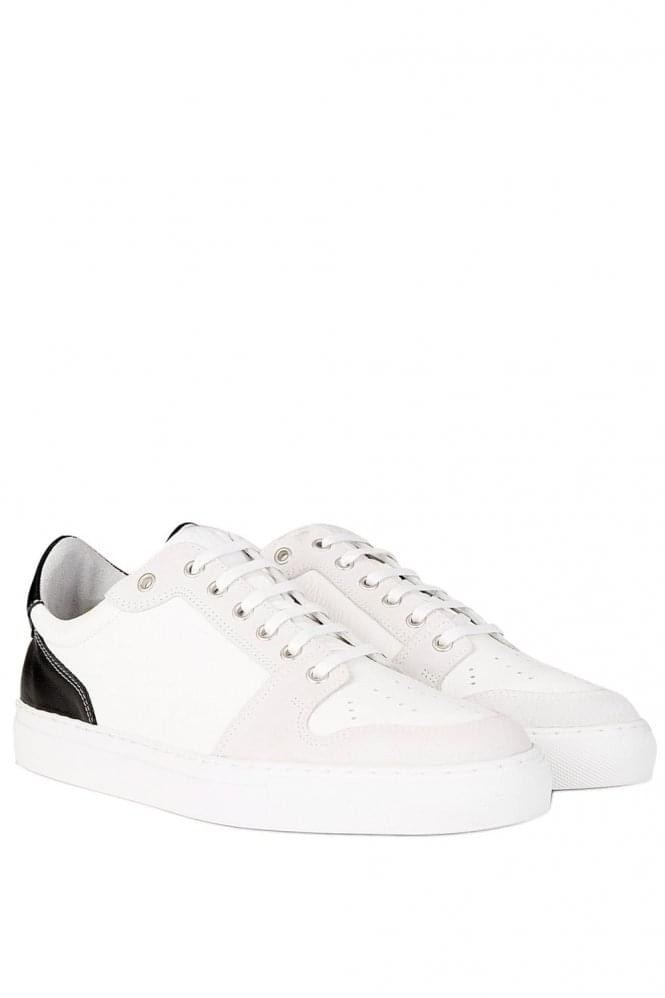AMI Leather Panel Sneaker