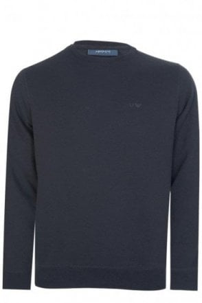 Armani Classic Combination Sweatshirt Black