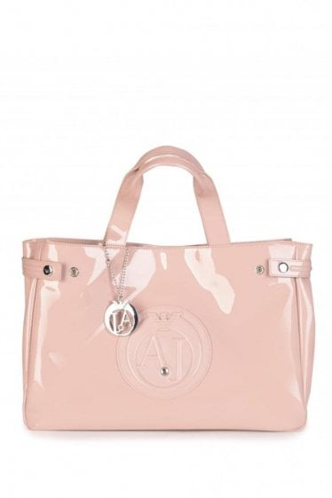 Armani Diamond Shopping Bag Light Pink