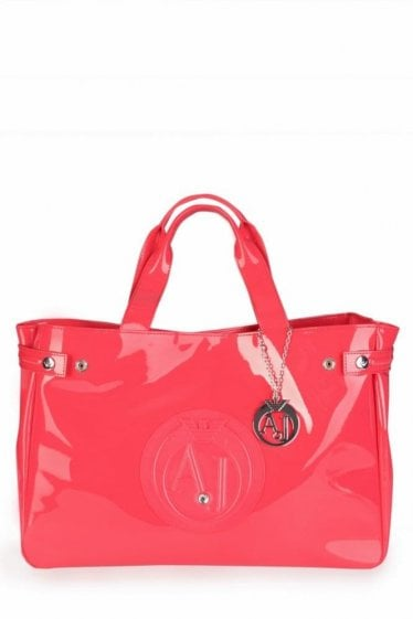 Armani Diamond Shopping Bag Pink