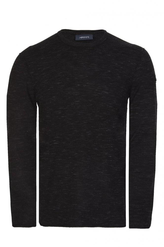 ARMANI Jeans AJ Knitted Top Black