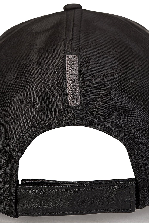 Armani Jeans All Over Print Baseball Cap Black f350117f292