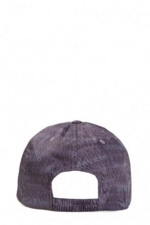 Armani Jeans All Over Print Logo Cap
