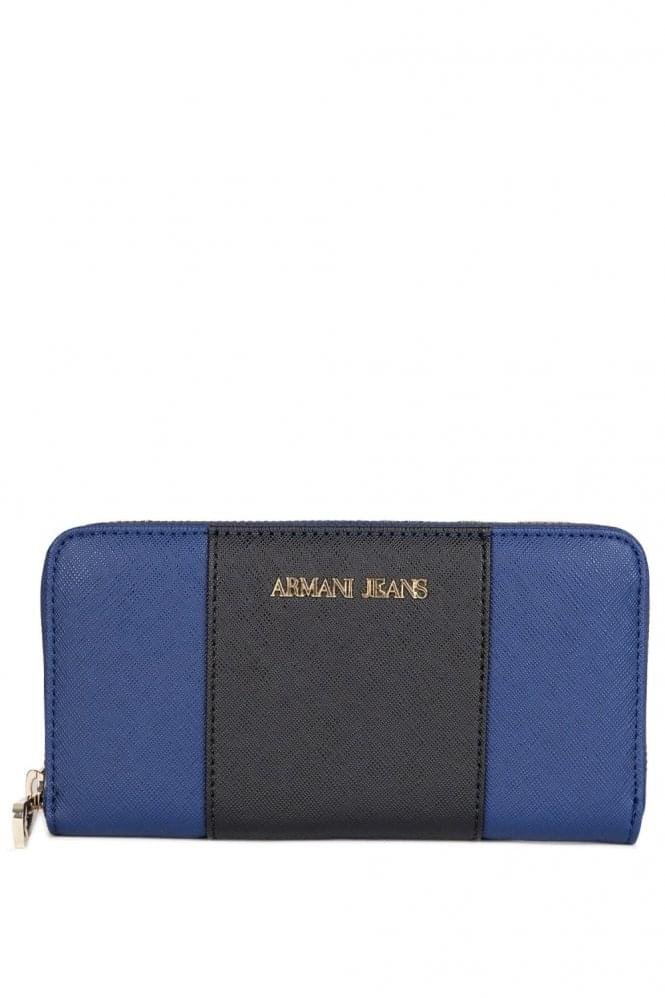 ARMANI Jeans Colour Block Purse Black