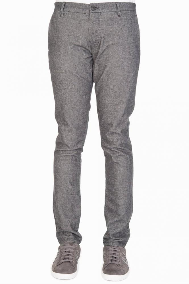 ARMANI Jeans Cotton Chinos Grey