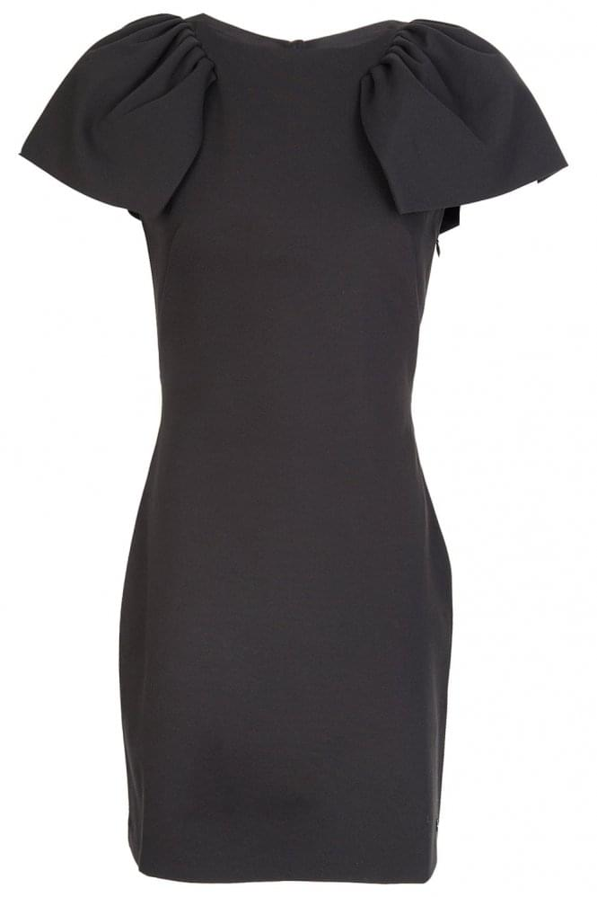 ARMANI Jeans Cut Out Back Bodycon Dress