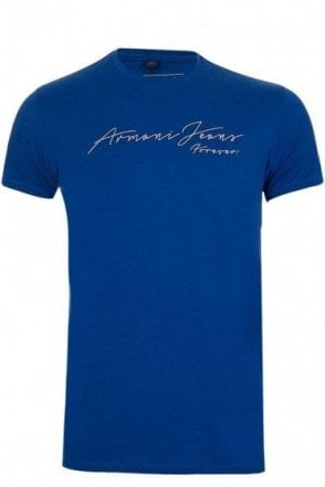 Armani Jeans 'Forever' T-Shirt Blue