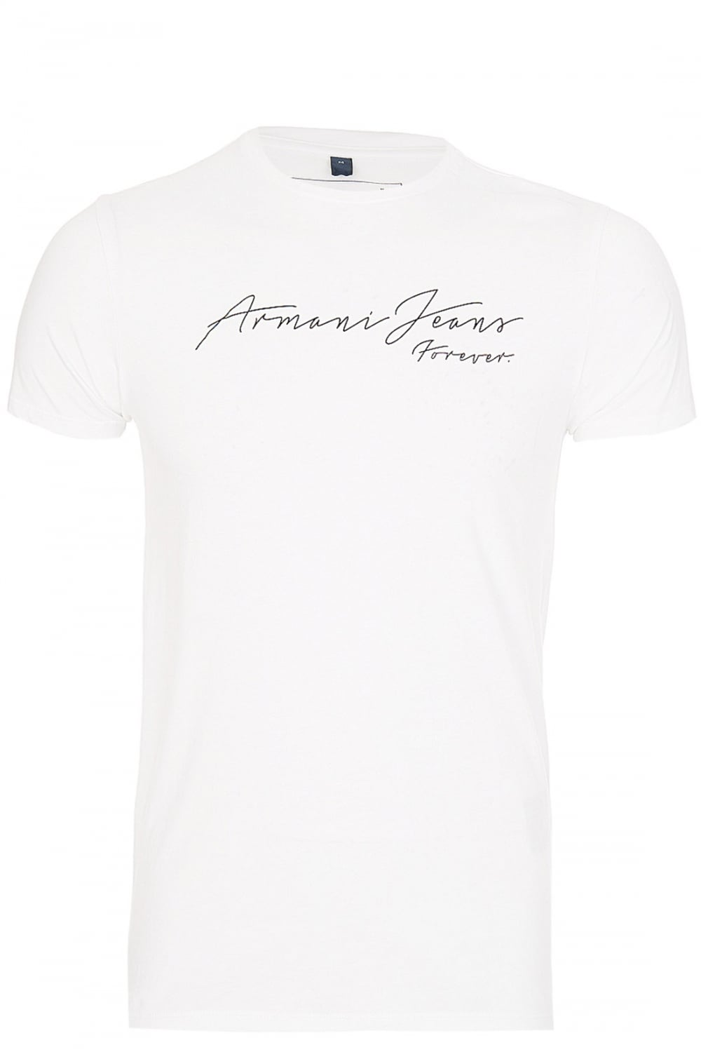 d84dba32 ARMANI Armani Jeans 'Forever' T-Shirt White - Clothing from Circle ...