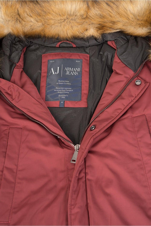 07867e40 Jeans Fur Hood Parka Red