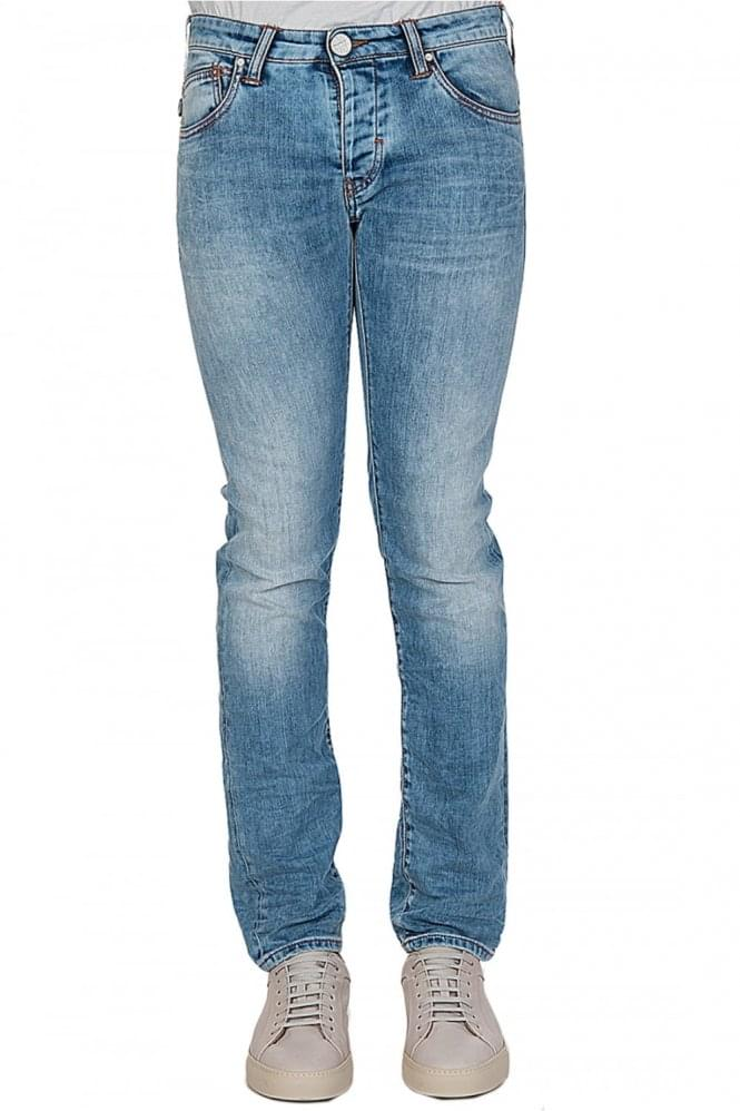 ARMANI Jeans J20 Light Washed Jeans