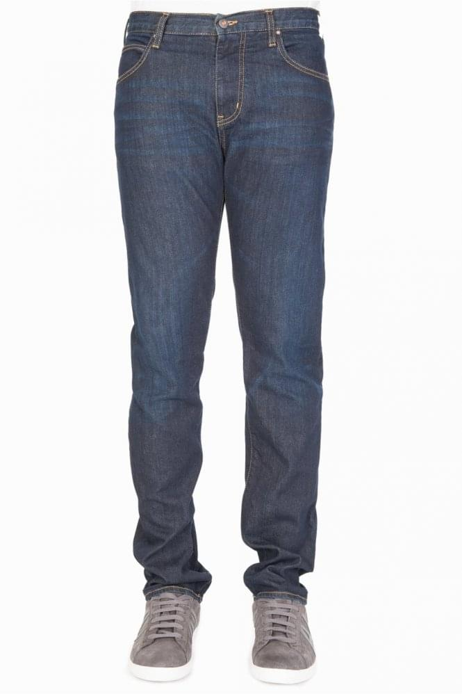 ARMANI Jeans J45 Tapered Jeans Blue