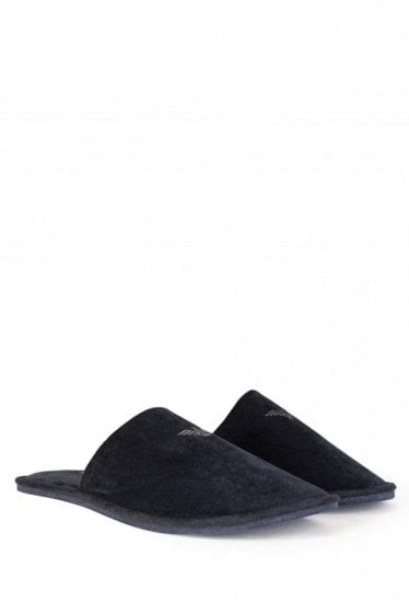 Armani Jeans Knight Slipper Black