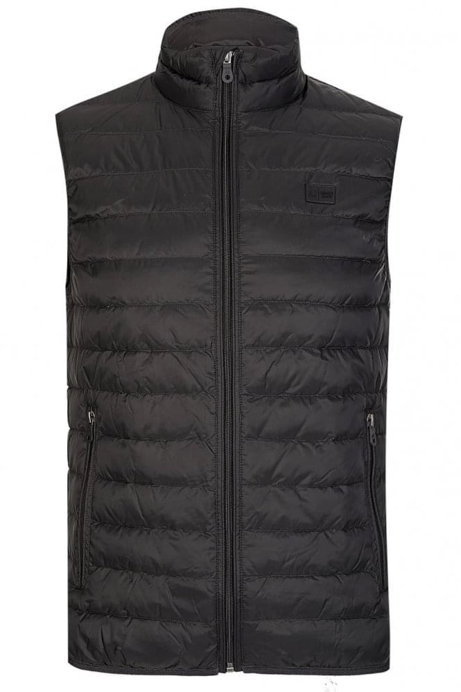 ARMANI Jeans Lightweight Down Gilet Grey