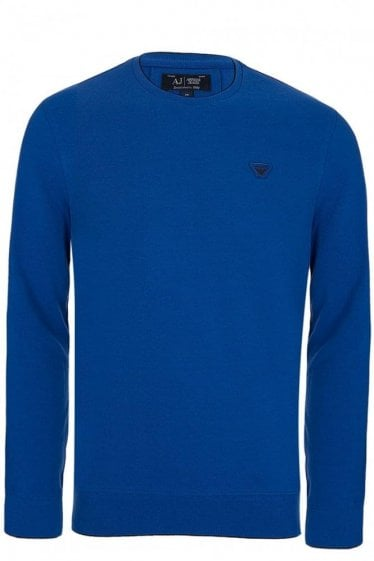 Armani Jeans Long Sleeved Top Blue
