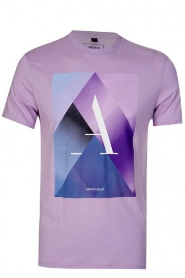 Armani Jeans Short Sleeved Graphic Print T-shirt