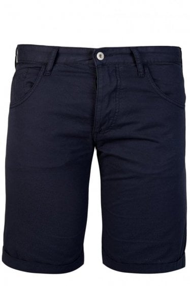 Armani Jeans Slant Pocket Chinos Navy