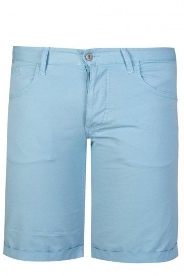 Armani Jeans Slant Pocket Shorts Blue