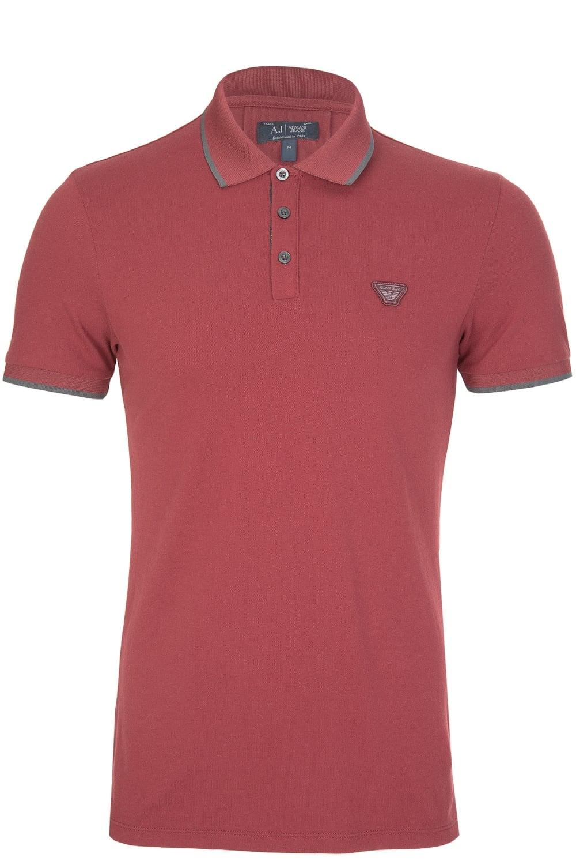 97a3e85f Armani Jeans Slim Fit Logo Tipped Polo Shirt Dark Green - raveitsafe