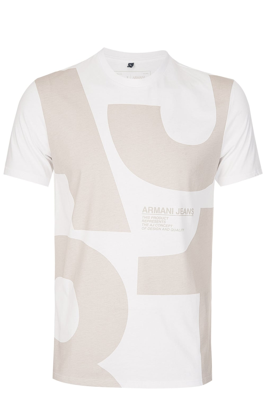 25df01fda91 ARMANI Armani Jeans Stone Print Tshirt - Clothing from Circle Fashion UK