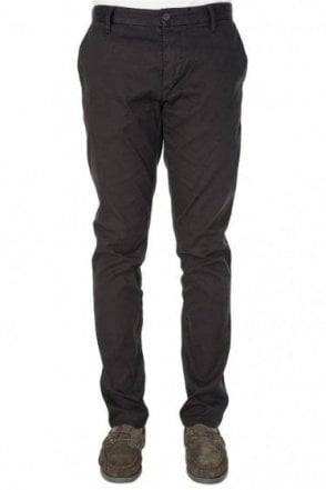 Armani Jeans Tapered Chinos Black