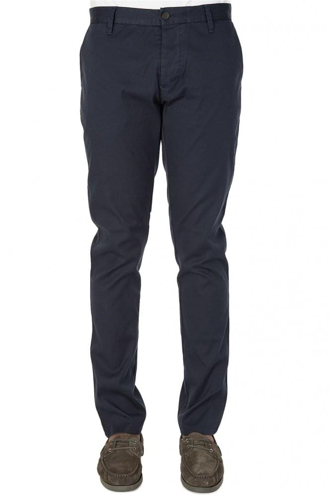 ARMANI Jeans Tapered Chinos Navy