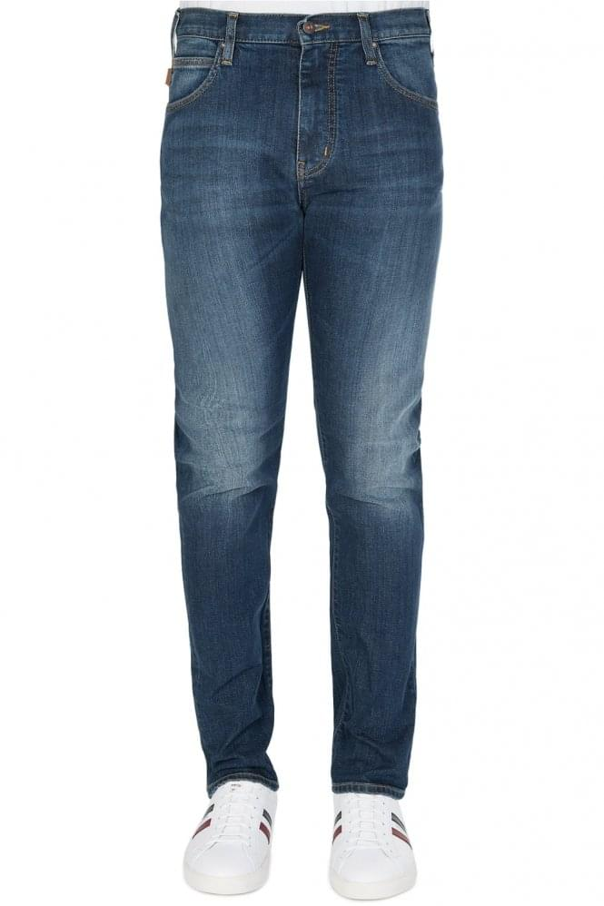 ARMANI Jeans Tapered Jeans Blue