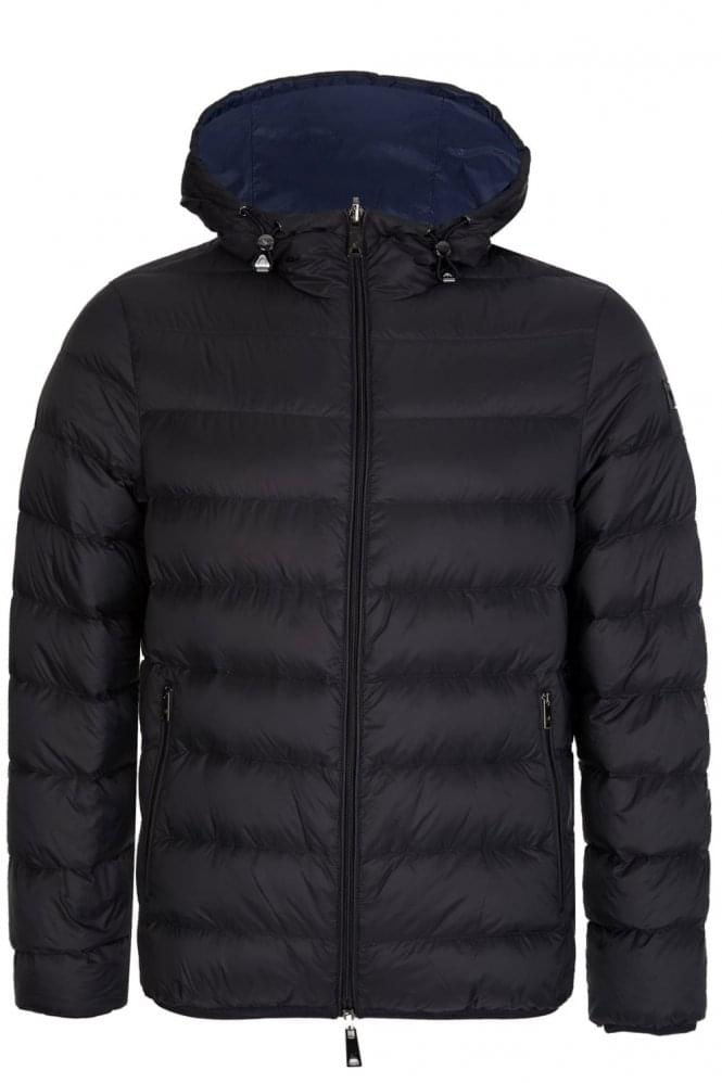 ARMANI Jeans Winter Down Jacket Black