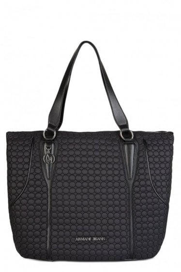 Armani Jeans Women's Applique Quilted Shopper