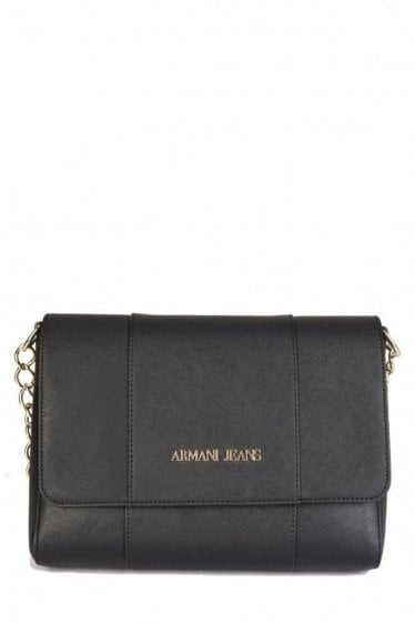 Armani Jeans Women's Chain Strap Bag Black