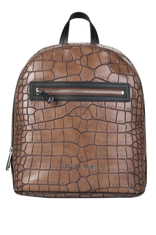 94f20f6d45c Armani Jeans Womens Croc Backpack Taupe