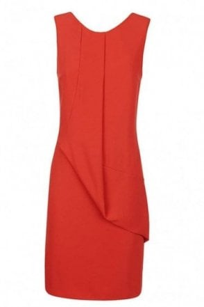 Armani Jeans Women's Dress Red