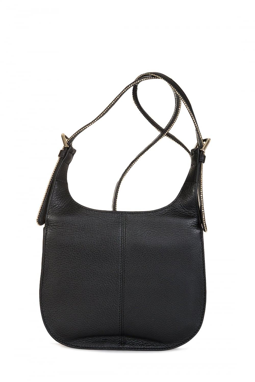 640cc1e9e9 ARMANI Armani Jeans Women's Leather Shoulder Bag Black