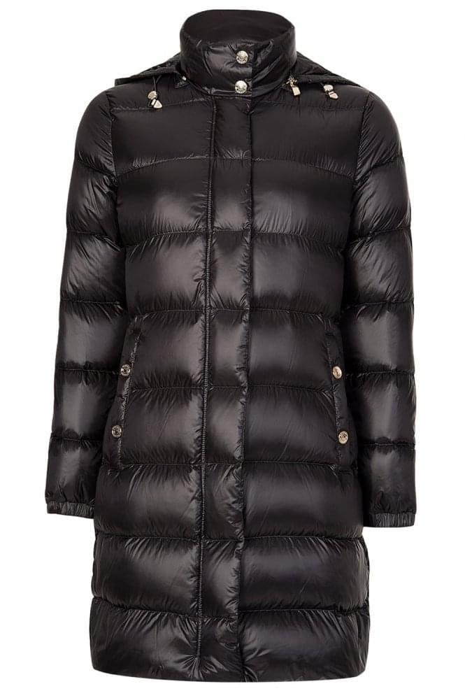 Armani Jeans Womens  Long Down Puffer Coat
