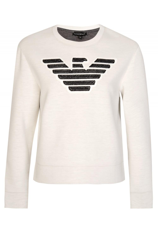 e763c7957c Jeans Womens Neoprene Sweatshirt White