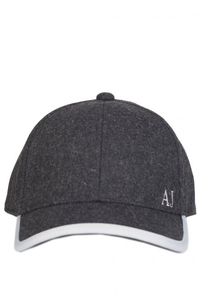 Armani Jeans Wool Cap Black