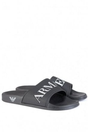Armani Sliders Black