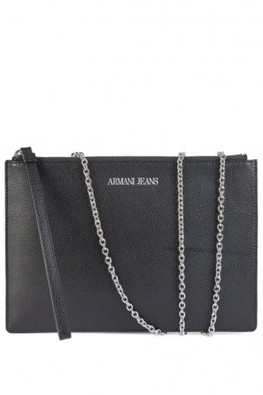 Armani Women's Flat Clutch Black