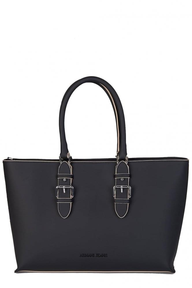 ARMANI Women's Shopper Black